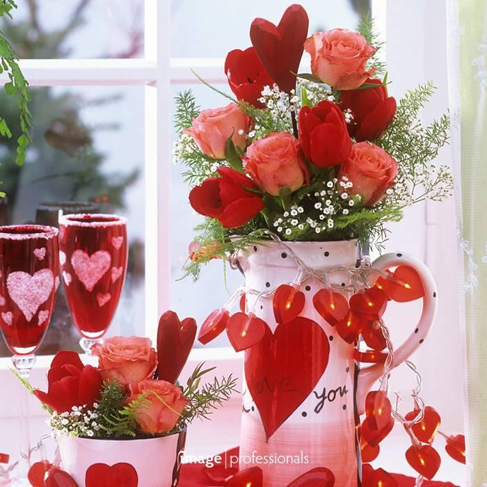 Fröhlichen Valentinstag: Lasst Blumen sprechen!