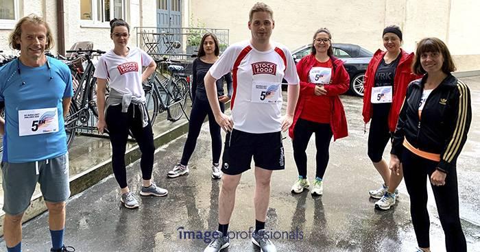 Burda läuft Challenge 2020: Image Professionals laufen für die gute Sache