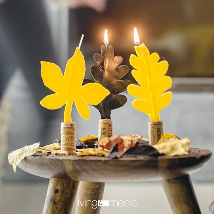 Einfach selber machen: Trend DIY-Kerzen